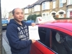Mr Bing Li, From, Leyton passed with Time To Pass Driving School