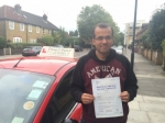 Mr DEVEN From E14 passed with Time To Pass Driving School
