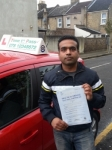 Mr Deepak from London E15 passed with Time To Pass Driving School