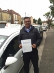 Mr Foysal, from E10 passed with Time To Pass Driving School
