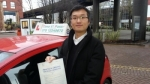 Mr Guoping From London E14 passed with Time To Pass Driving School