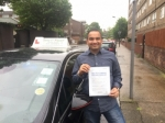Mr Hari From E14 passed with Time To Pass Driving School