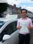 Mr Hung Ho,from SE16. passed with Time To Pass Driving School