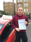 Mr James from E5 passed with Time To Pass Driving School