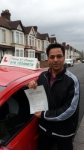 Mr Jatinder from London E14 passed with Time To Pass Driving School