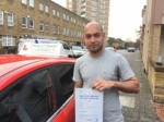 Mr Monjur From E14 passed with Time To Pass Driving School