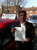 Rana . from London E6 passed with Time To Pass Driving School