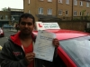Mr Shahadat. From London E14. passed with Time To Pass Driving School