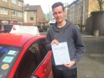 Mr Thomas From E14 passed with Time To Pass Driving School