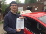 Mr YUjia From E14 passed with Time To Pass Driving School