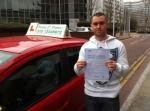 Mr. Billy,from London, E14 passed with Time To Pass Driving School