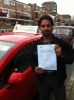 Mr. Botta  From London, E14 passed with Time To Pass Driving School