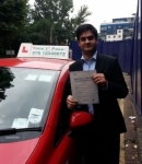Mr. Prateek, from London E14 passed with Time To Pass Driving School