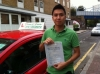 Mr Tung  from, London  E14 passed with Time To Pass Driving School