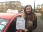Mrs Oksana From E6 passed with Time To Pass Driving School