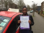 Mrs Rio From E9 passed with Time To Pass Driving School