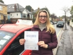 Mrs Tatiana From E12 passed with Time To Pass Driving School