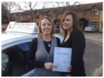 Mrs. Nicola Baker passed with Time To Pass Driving School