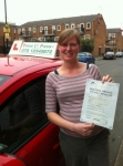 Mrs Rosalind, From Hackney,  E9 passed with Time To Pass Driving School