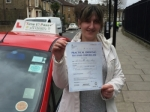 Ms Aury from E8 passed with Time To Pass Driving School