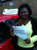 Ms. Ekua ,From. London passed with Time To Pass Driving School