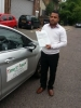 Mr Rajel From London passed with Time To Pass Driving School