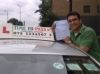 Tanuj Banerjee.from,Bow, E3 passed with Time To Pass Driving School