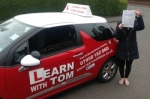 Adele Wilkinson passed with Learn with Tom