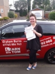 Alana Grocutt passed with Learn with Tom
