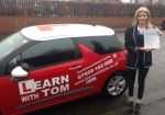 Alysa Weir passed with Learn with Tom