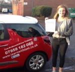Amy Carnegie passed with Learn with Tom