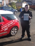 Andrew Barnshaw passed with Learn with Tom