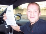 Andy Shearar passed with Learn with Tom