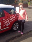 Ashley Cummings passed with Learn with Tom