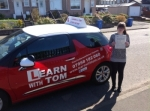 Audrey Watson passed with Learn with Tom