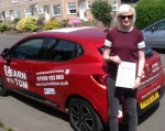 Carrie Taylor passed with Learn with Tom