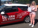 Claire Differ passed with Learn with Tom