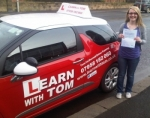 Claire Scoular passed with Learn with Tom