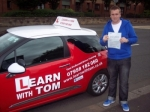 Connor Stewart passed with Learn with Tom