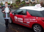 Cydnee McDonald passed with Learn with Tom