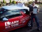 David Fleming passed with Learn with Tom