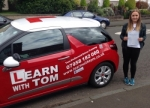 Emma Carroll passed with Learn with Tom