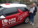 Emma Shearer passed with Learn with Tom