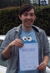 Fergus Douglas passed with Learn with Tom