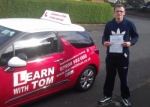 Grant McLean passed with Learn with Tom