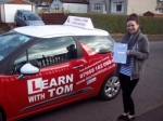 Heather Alexander passed with Learn with Tom