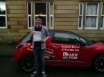 Jack McInally passed with Learn with Tom