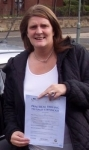 Jackie Mills passed with Learn with Tom