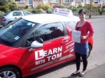 Jayne Robertson passed with Learn with Tom