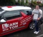 Jenna McCran passed with Learn with Tom